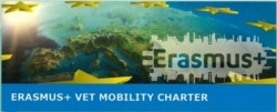 """Харта за мобилност в сферата на професионалното образование по програма """"Еразъм+"""""""