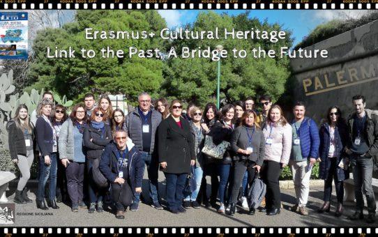 """Учители от Старопрестолна професионална гимназия по икономика участваха в работна среща  по проект """"Културното наследство-връзка с миналото, мост към бъдещето""""  на програма ЕРАЗЪМ+"""
